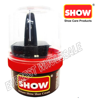 Show Shoe Cream 50 ml * Brown * 6 pcs