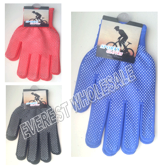 Sport Biking Glove * Assorted Colors * 12 pcs