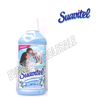 Suavitel Fabric Softener 450 ml * Field Flowers * 12 pcs Case