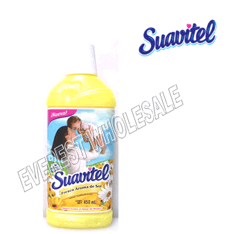 Suavitel Fabric Softener 450 ml * Morning Sun * 12 pcs Case