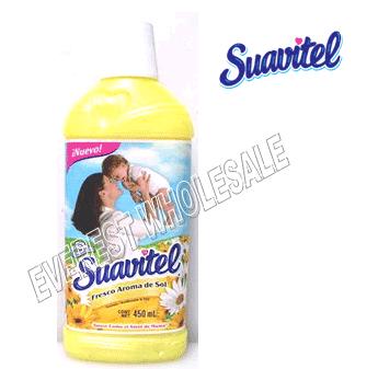 Suavitel Fabric Softener 850 ml * Morning Sun * 12 pcs Case