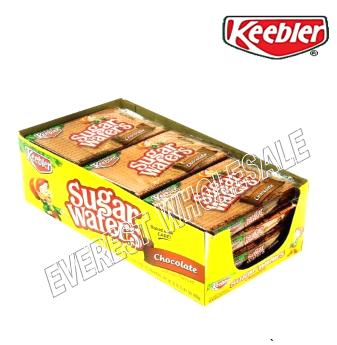 Keebler Sugar Waffers 2.75 oz * Chocolate * 12 pcs
