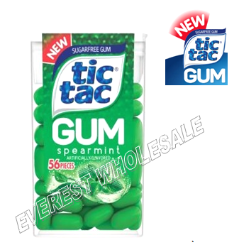 Tic Tac Gum * Spearmint * 12 pcs