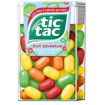 Tic Tac Candy * Fruit Adventure * 12 pcs