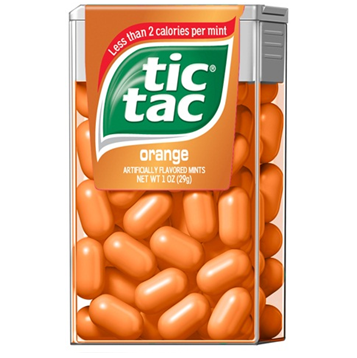 Tic Tac Candy * Orange * 12 pcs