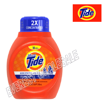 Tide Liquid Laundry Detergent 25 Fl Oz * Original * 6 pcs Case