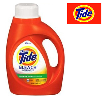 Tide Liquid Laundry Detergent 50 Fl Oz * With Bleach * 6 pcs Case