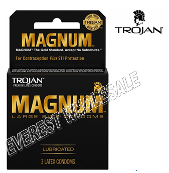 Trojan Magnum 3 in Pack * Regular * 6 pks