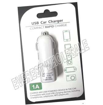 USB Compact Rapid Single Port Car Charger * 12 pcs
