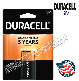 Duracell Battery 9V * 12 pcs / Box