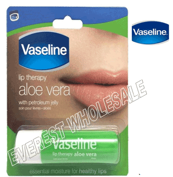 Vaseline Lip Therapy * Aloe Vera * 12 pcs