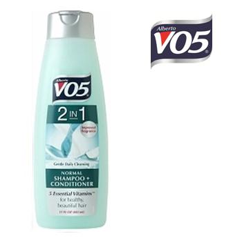 VO5 2 in 1 Shampoo & Conditioner Normal 15 fl oz * 6 pcs