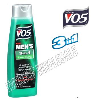 VO5 Shampoo 3 in 1 15 fl oz * Fresh Energy * 6 pcs