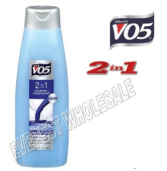 VO5 Shampoo 2 in 1 15 fl oz * Moisturizing * 6 pcs