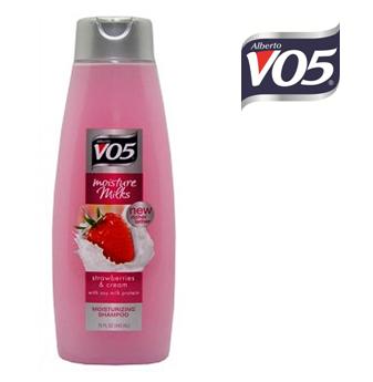 VO5 Shampoo 15 fl oz * Strawberries & Cream * 6 pcs