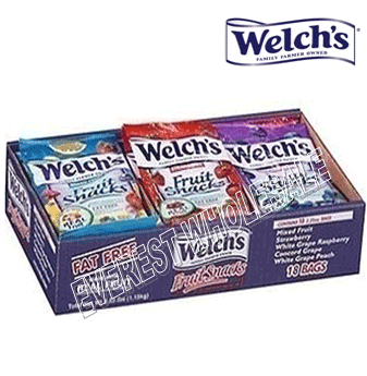 Welch's Fruit Snacks * Assorted Flavors * 18 pcs