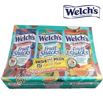 Welch's Fruit Snacks * Island Fruits * 18 pcs