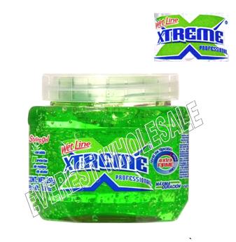 Xtreme Hair Gel 8.8 oz * Green * 6 pcs