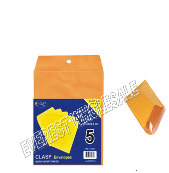Yellow Bubble Envelope 6 x 9 inches size 5 ct Pack * 12 pcs