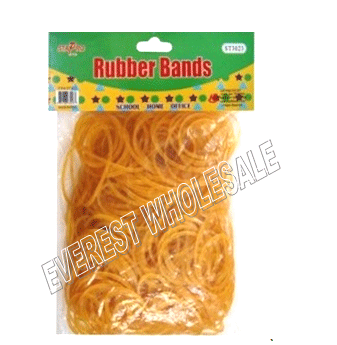 Yellow Rubber Bands Bulk Pack * 12 pcs