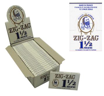 Zig Zag Cigarette Paper 1 1/2 * 24 pcs
