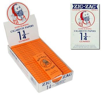 Zig Zag Cigarette Paper 1 1/4 * 24 pcs