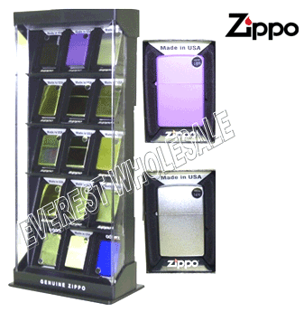 Zippo Lighter With Display Box 18 pcs