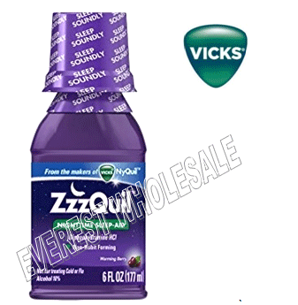 Zzzquil Night Time Sleep Aid 6 fl. oz * 6 pcs
