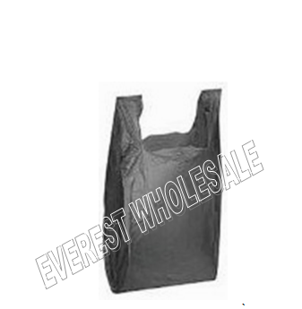 1/10 Black Shopping Bag 20 Micron 1500 ct