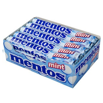 Mentos Candy * Mint * 15 ct