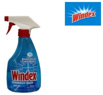 Windex Glass Cleaner 500 ml * Original * 12 pcs / Case